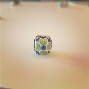 Pandora Charm. Enamel and 925 Sterling Silver